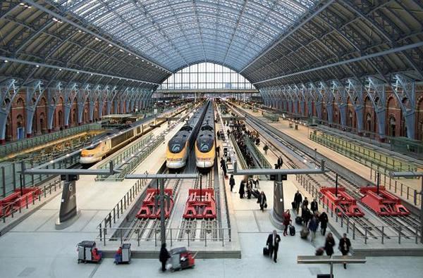 Londres gen ve en train 6 h 15 - Consigne saint pancras londres ...