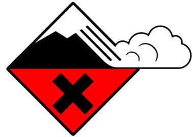 Risque d'avalanche fort (niveau 4 sur 5)