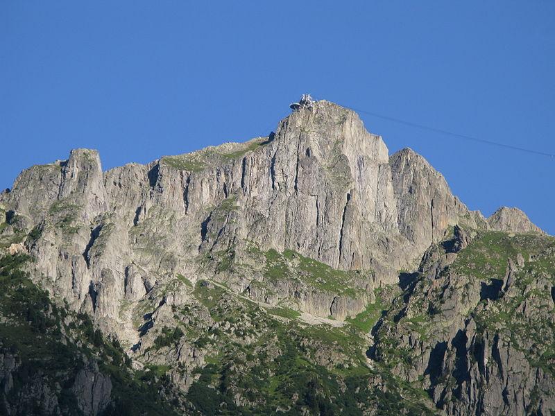 Brevent from Chamonix