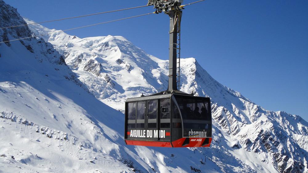 Aiguille du Midi 2013 Clôture