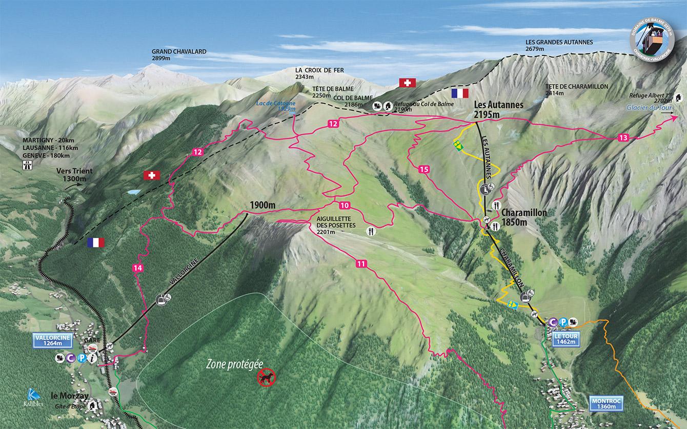 Chamonix Valley Ski Resorts Maps and Summer Maps Chamonixnet