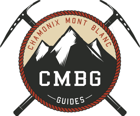 Chamonix Mont Blanc Guides - CMBG logo. photo source : @Facebook