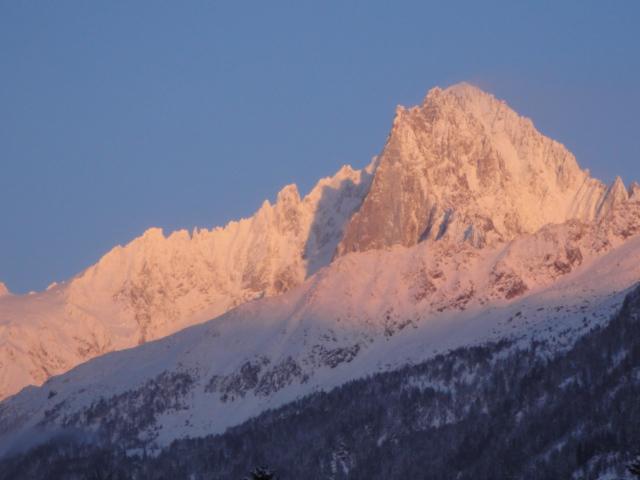 Sunset yesterday on the Verte