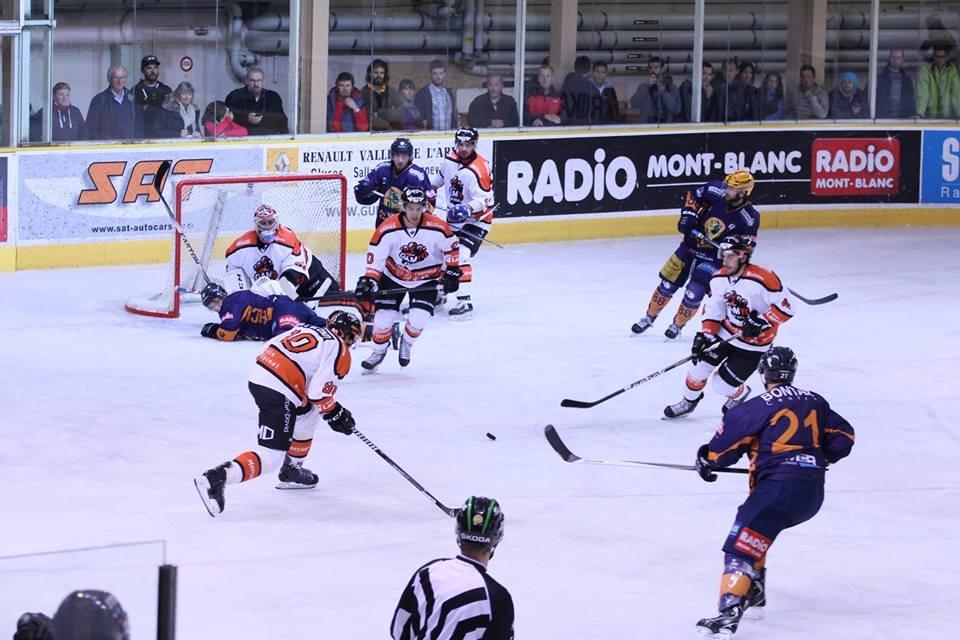 Chamonix -vs- Briançon: 6-3