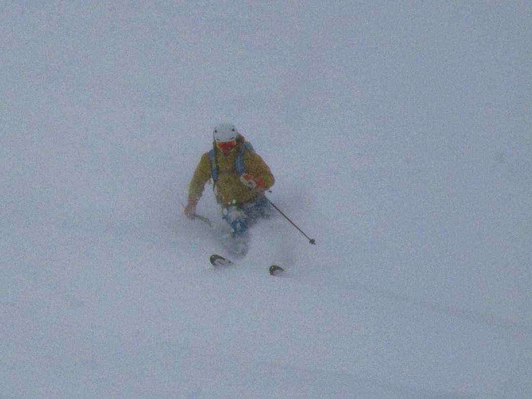 Grands Montets yesterday