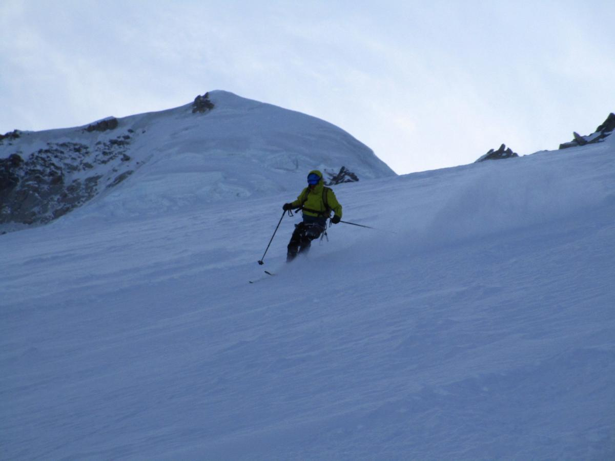 Grands Montets today - top (via skins)