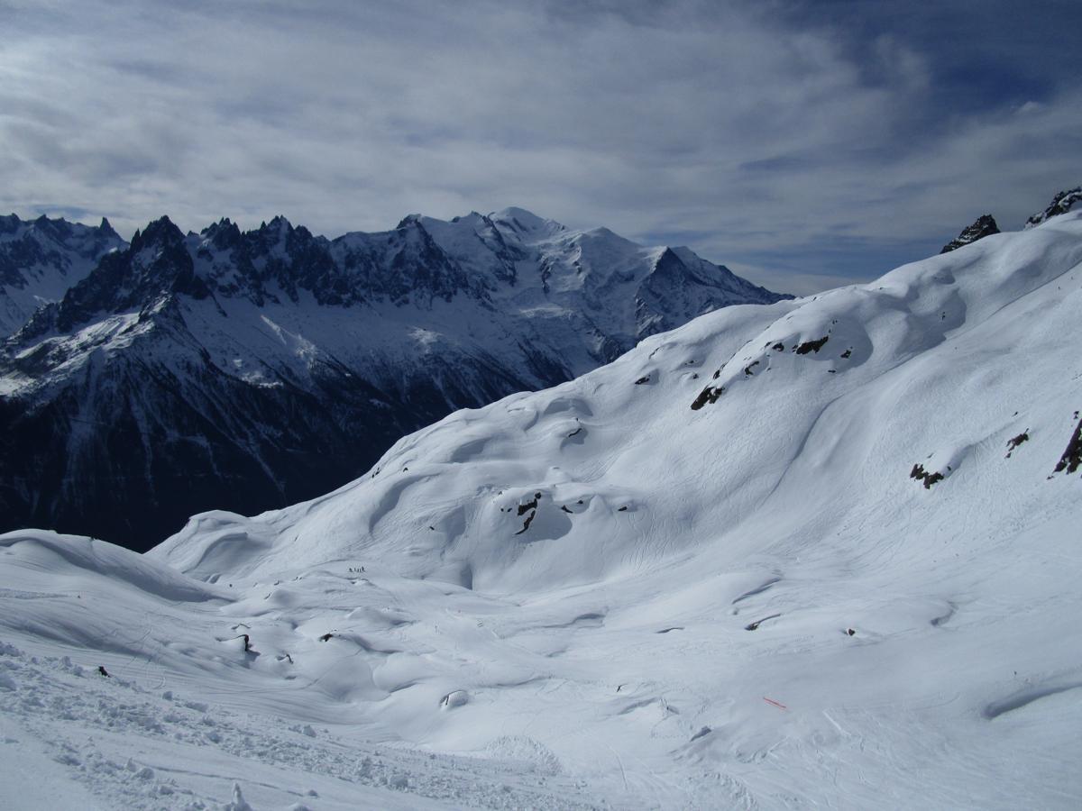 Flegere & Mt Blanc today