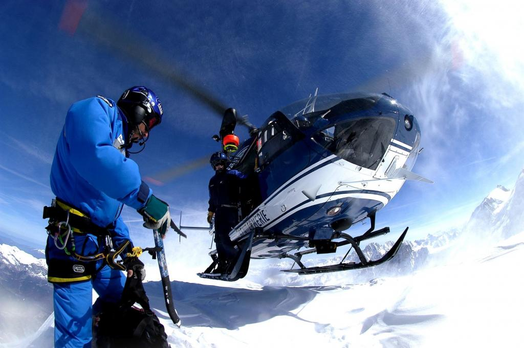The PGHM of Chamonix carried out 8 rescue missions on 6 August 2020.