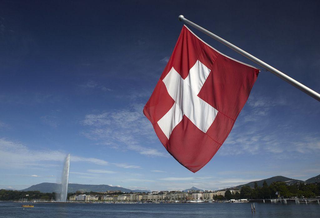Swiss Flag from Geneva