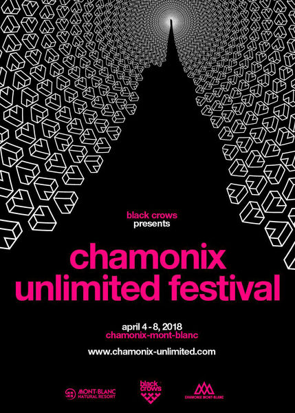 This year the Chamonix Unlimited Festival is to take place from Wednesday 4th to Sunday 8th April 2018. Five days of skiing and unlimited music at the foot of Mont Blanc. Photo source: @www.chamonix.com
