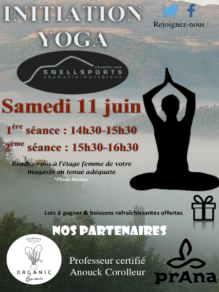 Snell Sports  Ateliers d Initiation Yoga ... d3bbb04a0d8