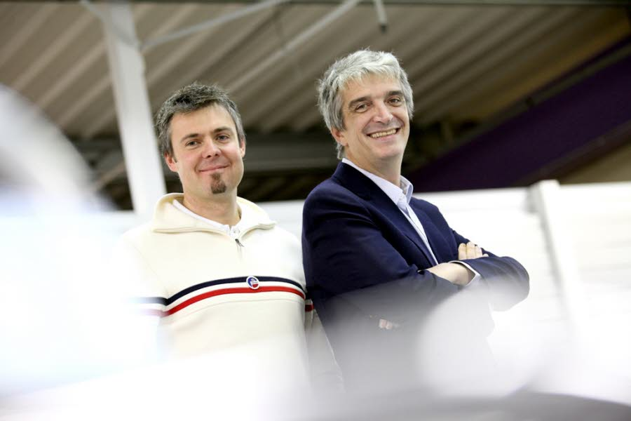 Antoine Dénériaz and Philippe Lacoste