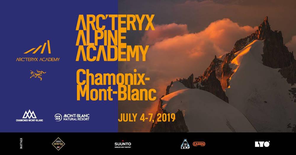 2019 Arc'Teryx Alpine Academy, photo source @facebook.com