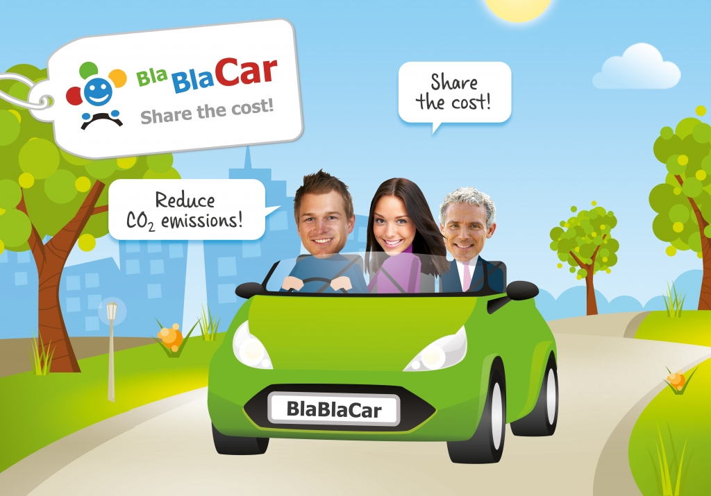 BlaBlaCar. photo source: @blablacar.fr