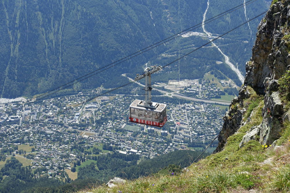 Brevent cable car, author Guilhem Vellut, licensed under CC BY-SA 2.0, photo source @flickr.com