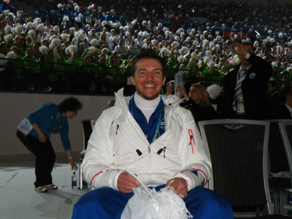 Cédric Amafroi-Broisat has been selected for 2014 Winter Paralympics