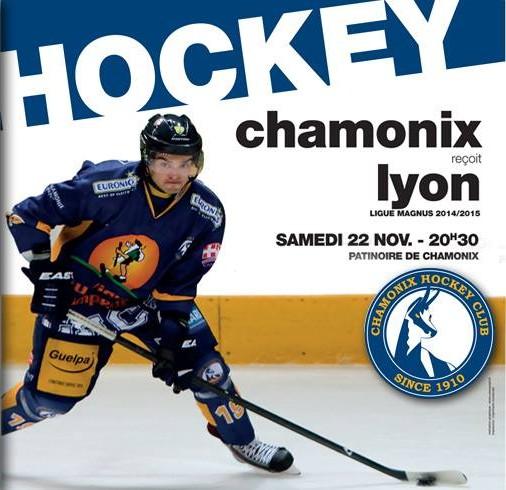 Les Lions de Lyon se sont inclinés face aux Chamois, score finale 9 à 2.