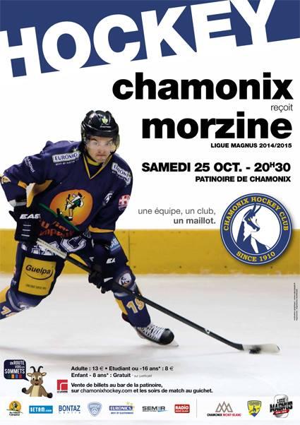 Hockey sur Glace Chamonix contre Morzine, Octombre 2014