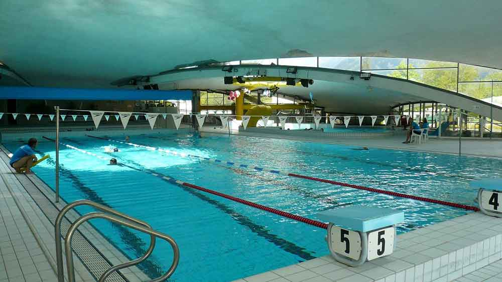 Chamonix Pool closure 20-22 September 2013