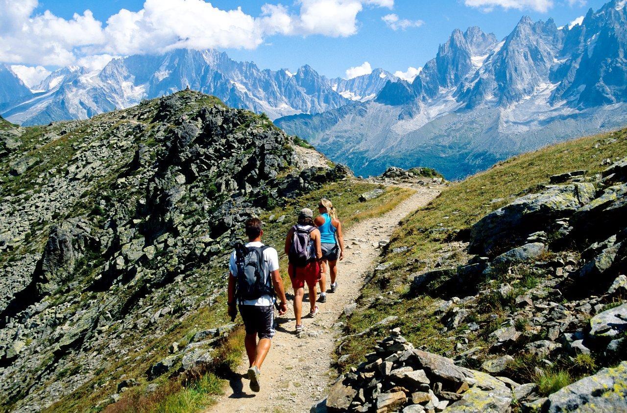 Chamonix trekking
