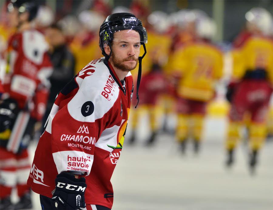 The former captain of Chamonix-Morzine Hockey Club, Clément Masson. photo source: @www.ledauphine.com