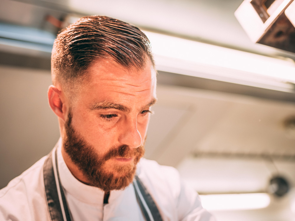 Head Chef Damien Leveau