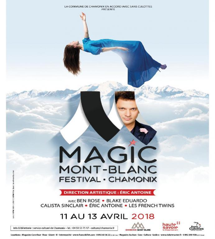 Magic Mont-Blanc Festival à Chamonix du 11 au 13 avril 2018. Photo source: @chamonix.fr