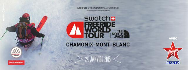 The Chamonix Stage of the Freeride World Tour confirmed for tomorrow!