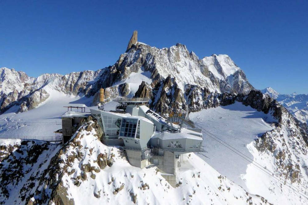Skyway Monte Bianco Cable Car Chamonix Net