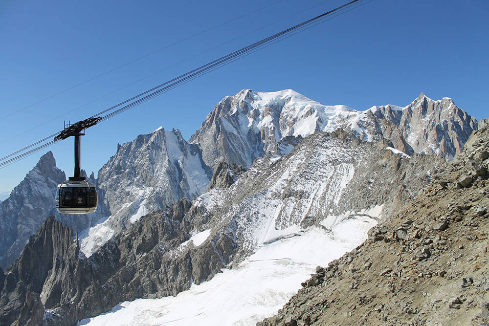 Skyway Monte Bianco cable car | Chamonix net