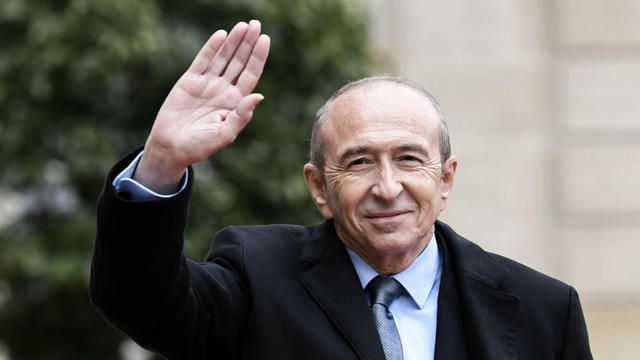 Thursday 31st May 2018, the Minister of the Interior Gerard Collomb will spend the day in Haute-Savoie. Photo source: @www.cnews.fr