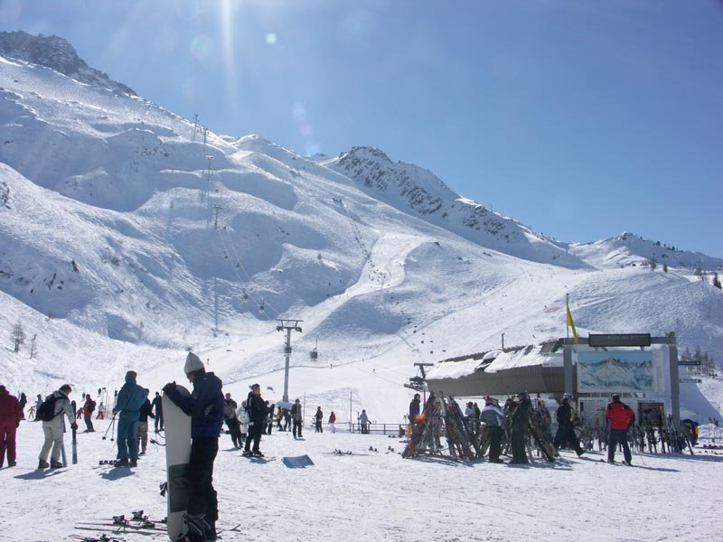 Grands Montets ski resort Chamonix