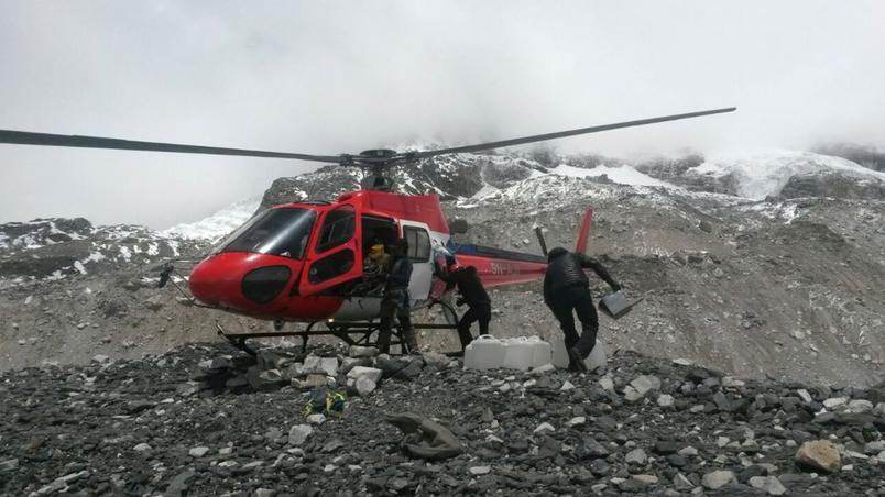 Aide internationale pour Népal