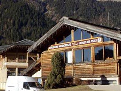Foyer de ski de fond de chamonix maison nordique et du trail - Maison nordique prix ...