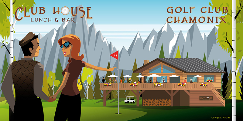 Chamonix Golf Club Opening