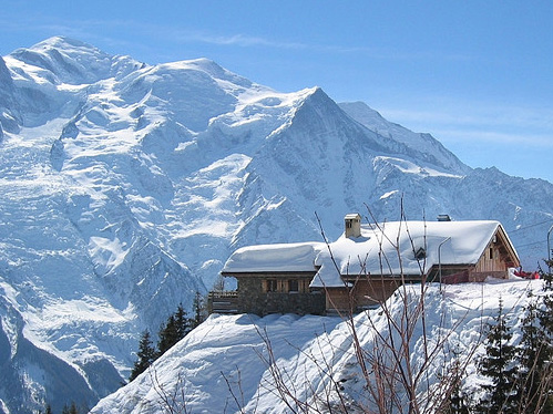rent a chalet in chamonix