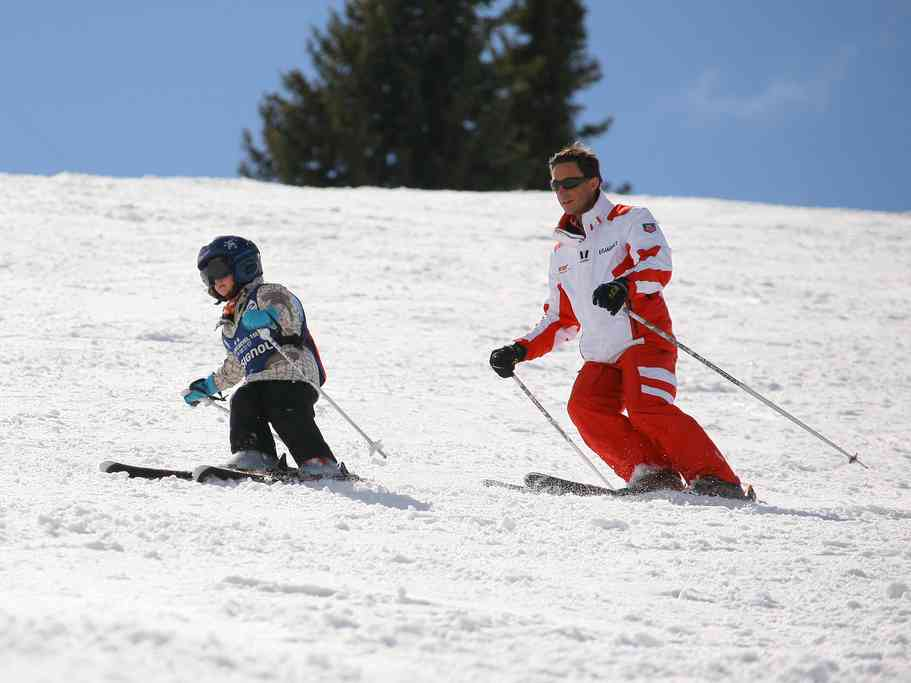 chamonix children activities ski