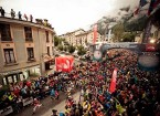Chamonix Events: People on the streets celebrating