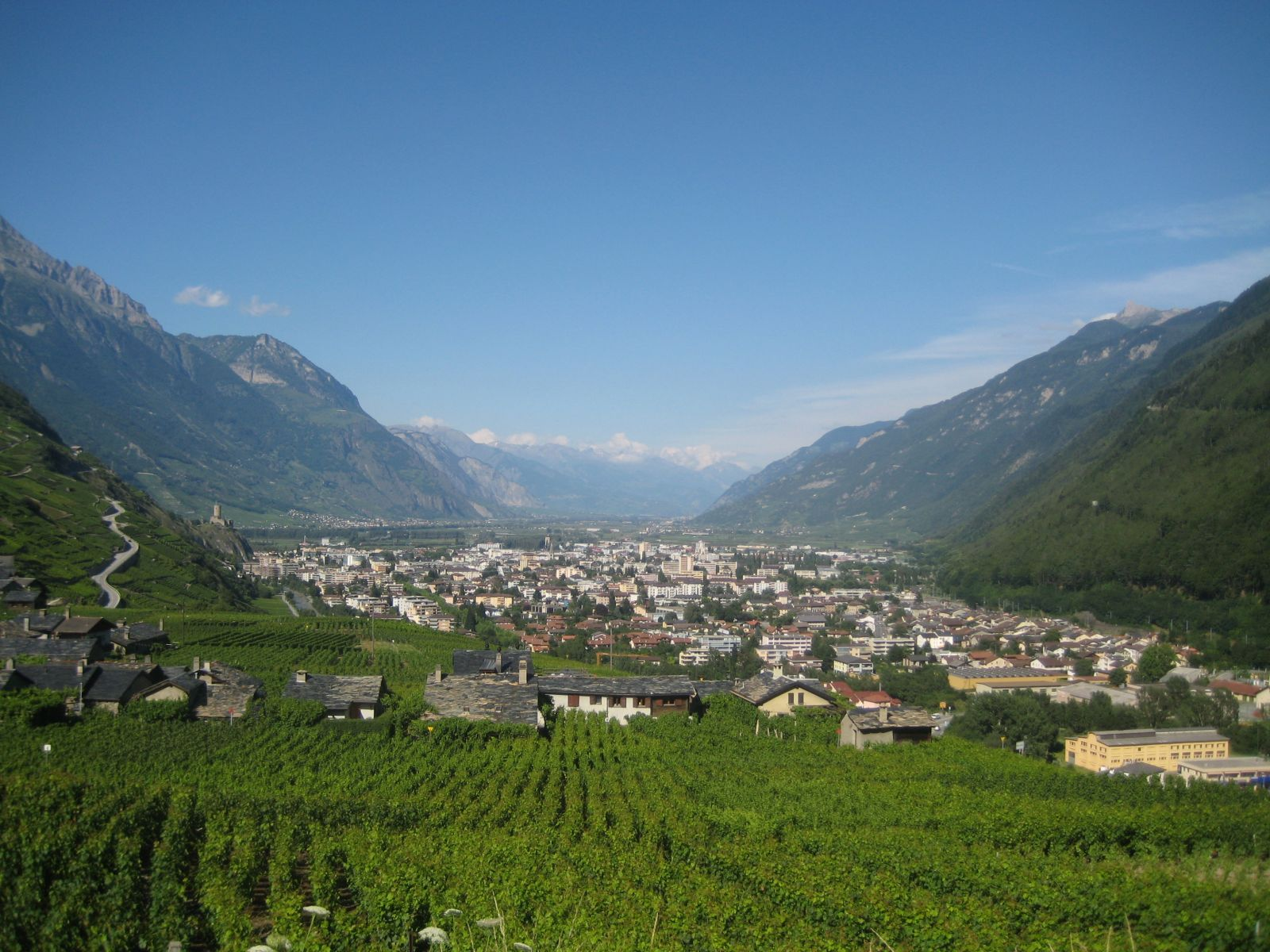 Martigny Valley - Le Valais - Switzerland