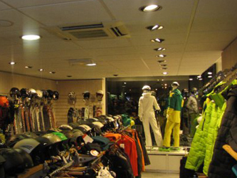 Chamonix & Les Praz Sports Shops (Chamonix Valley, France)