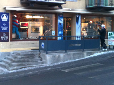 Argentière & Les Tines Sports Shops (Chamonix Valley, France)