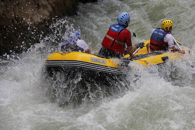 chamonix white water rafting
