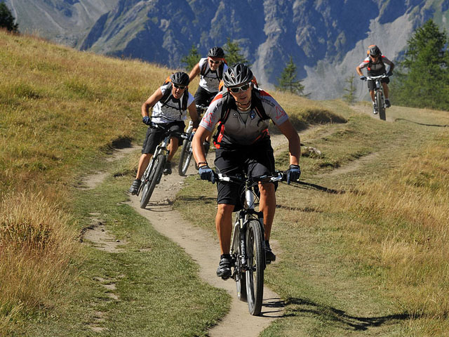 chamonix mountain bike