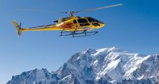 Helicopter Ride from Switzerland to Chamonix