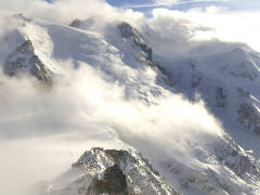 Aiguille du Midi panoramic webcam