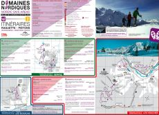 Chamonix Valley Snowshoeing Map