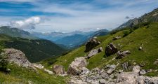 Hiking around Contamines