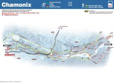 Cross Country Skiing Maps Chamonix Valley
