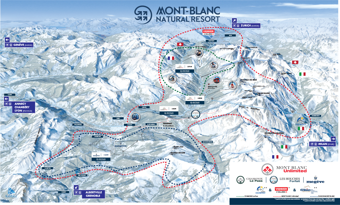 Live Status Of Chamonix Lifts And Slopes
