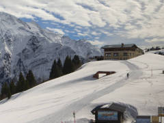 Les Houches Panoramic Webcam